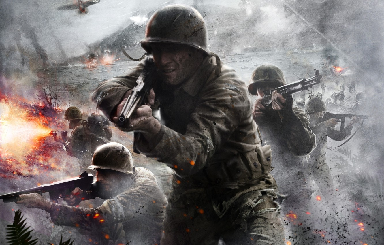 Wallpaper Art Game Activision Call Of Duty World At War Images
