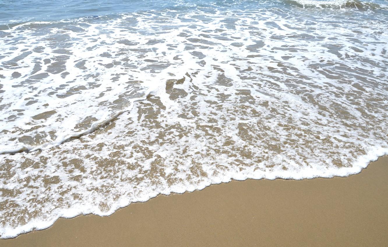 Photo wallpaper water, the ocean, wave, CA, USA, USA, America, Los Angeles, the Pacific ocean, Santa Monica