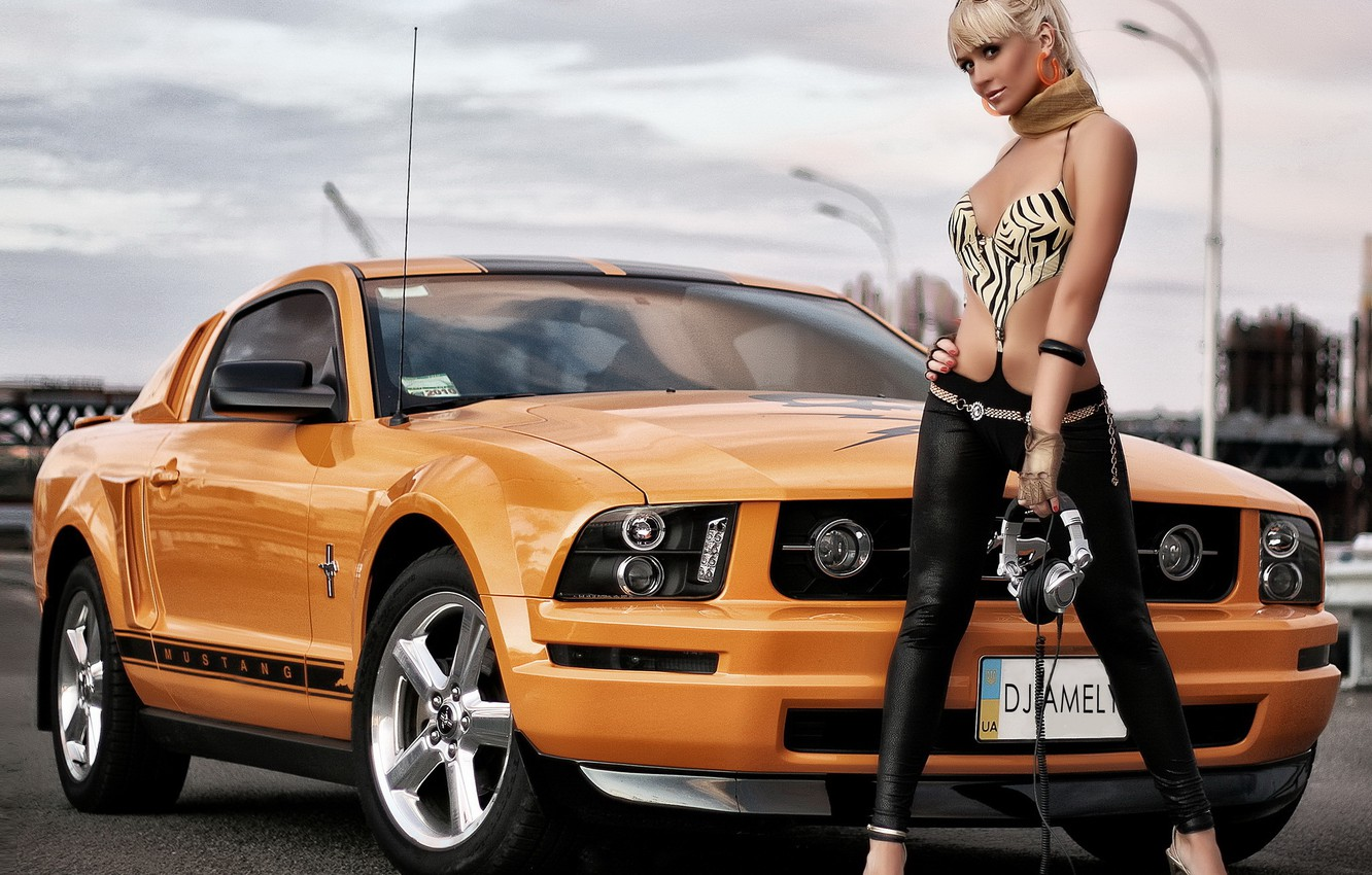 Photo wallpaper Mustang, Ford, car, Ford