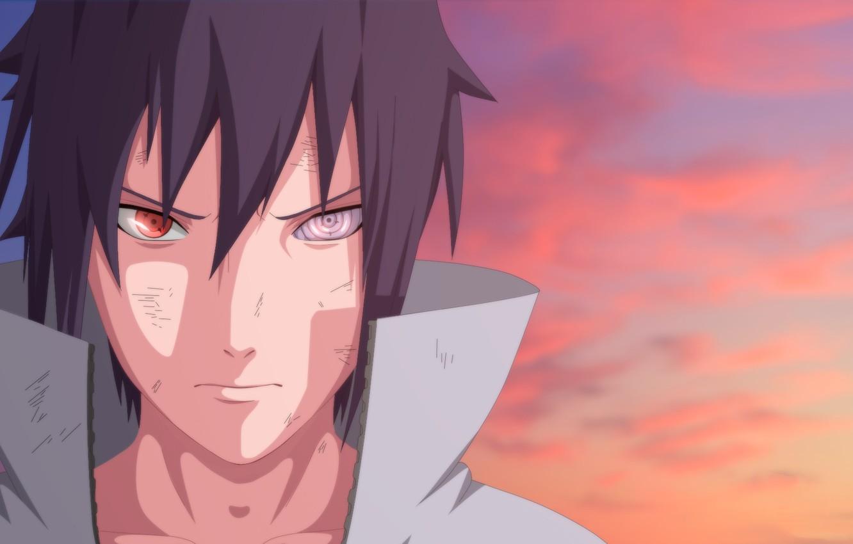 Wallpaper Naruto Art Sharingan Sasuke Uchiha Rinegan