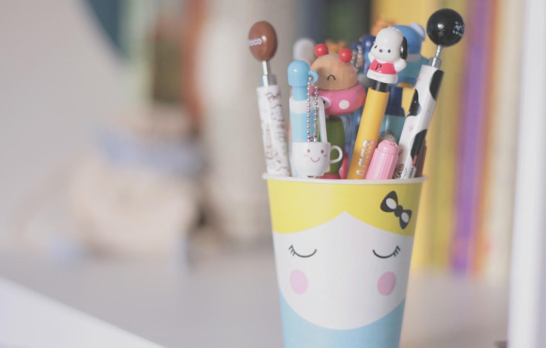 Wallpaper background mood blur pencils bear mug Cup handle