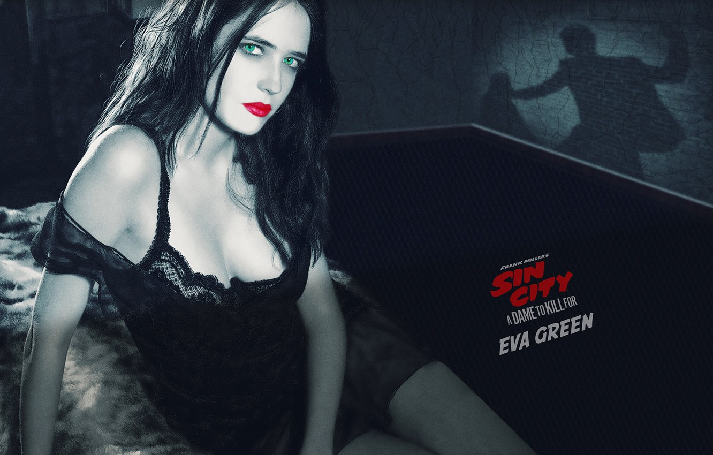 Photo wallpaper Sin City, A Dame to Kill For, worth killing, eva green, Sin city 2: a …