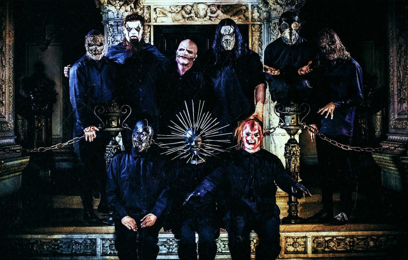 Photo wallpaper Metal, Slipknot, Nu-Metal, Nu metal, Slipnot, Corey Taylor, Jim Root, Sid Wilson, Mick Thomson, Chris …