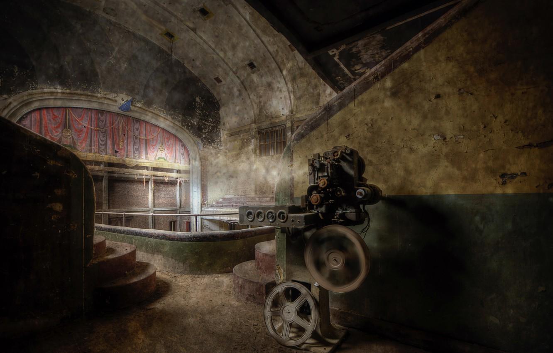 Photo wallpaper background, scene, hall