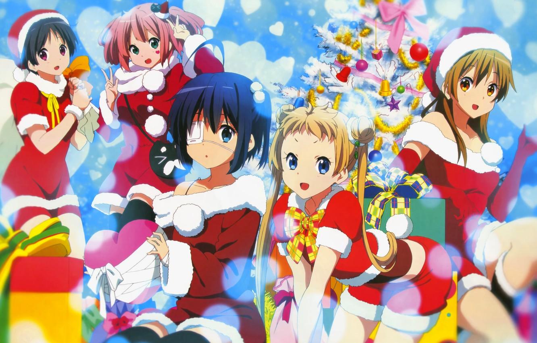 Wallpaper Girls New Year Tree Chuunibyou Demo Koi Ga Shitai