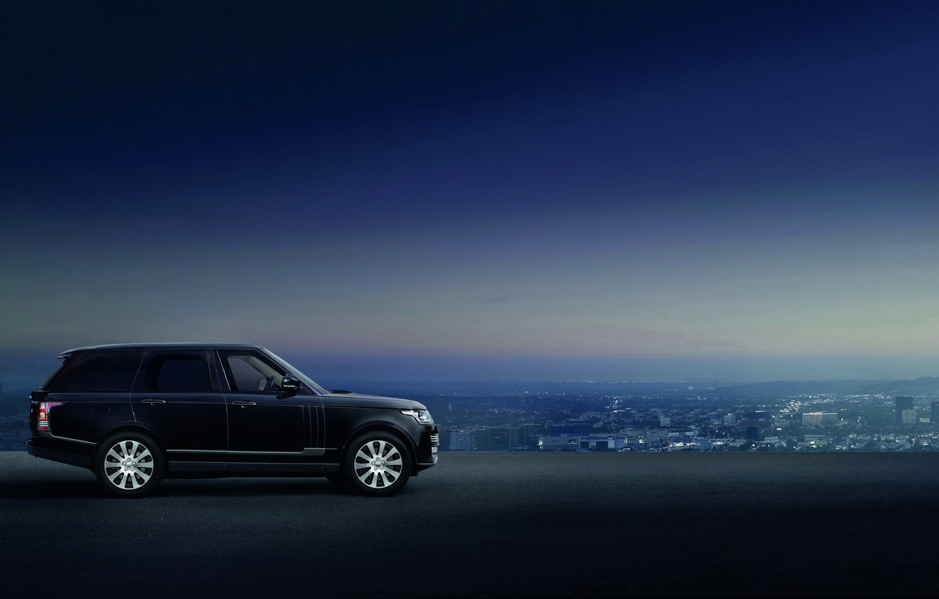 Photo wallpaper car, SUV, Range Rover Sentinel