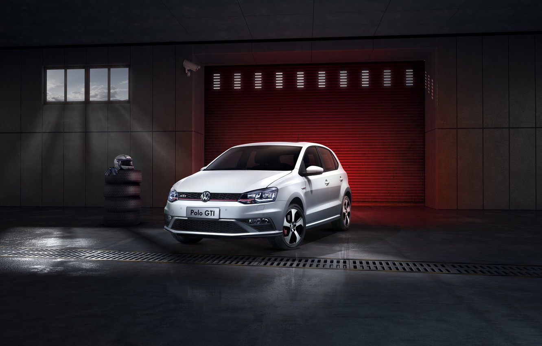 Photo wallpaper Volkswagen, GTI, Volkswagen, Polo, Polo, 2015, CN-spec, Type 6R