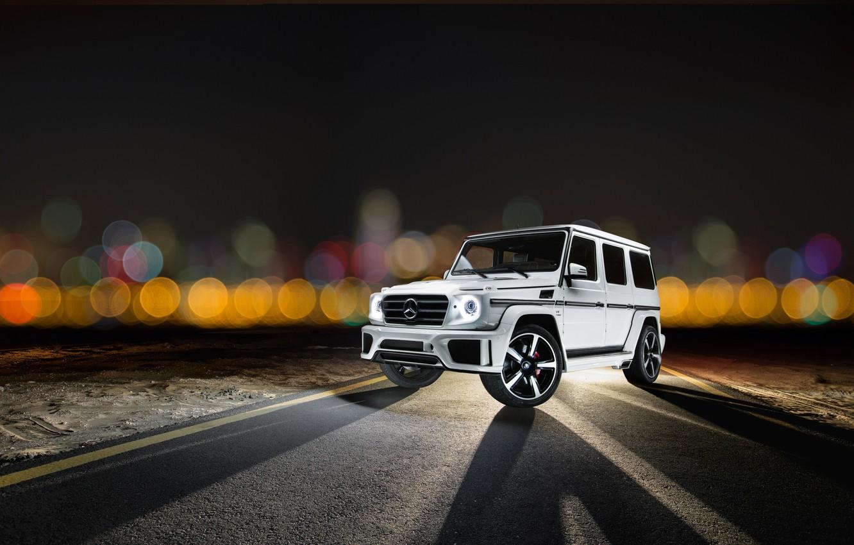 Photo wallpaper Mercedes-Benz, Mercedes, G-Class, 2014, W463, Ares Design