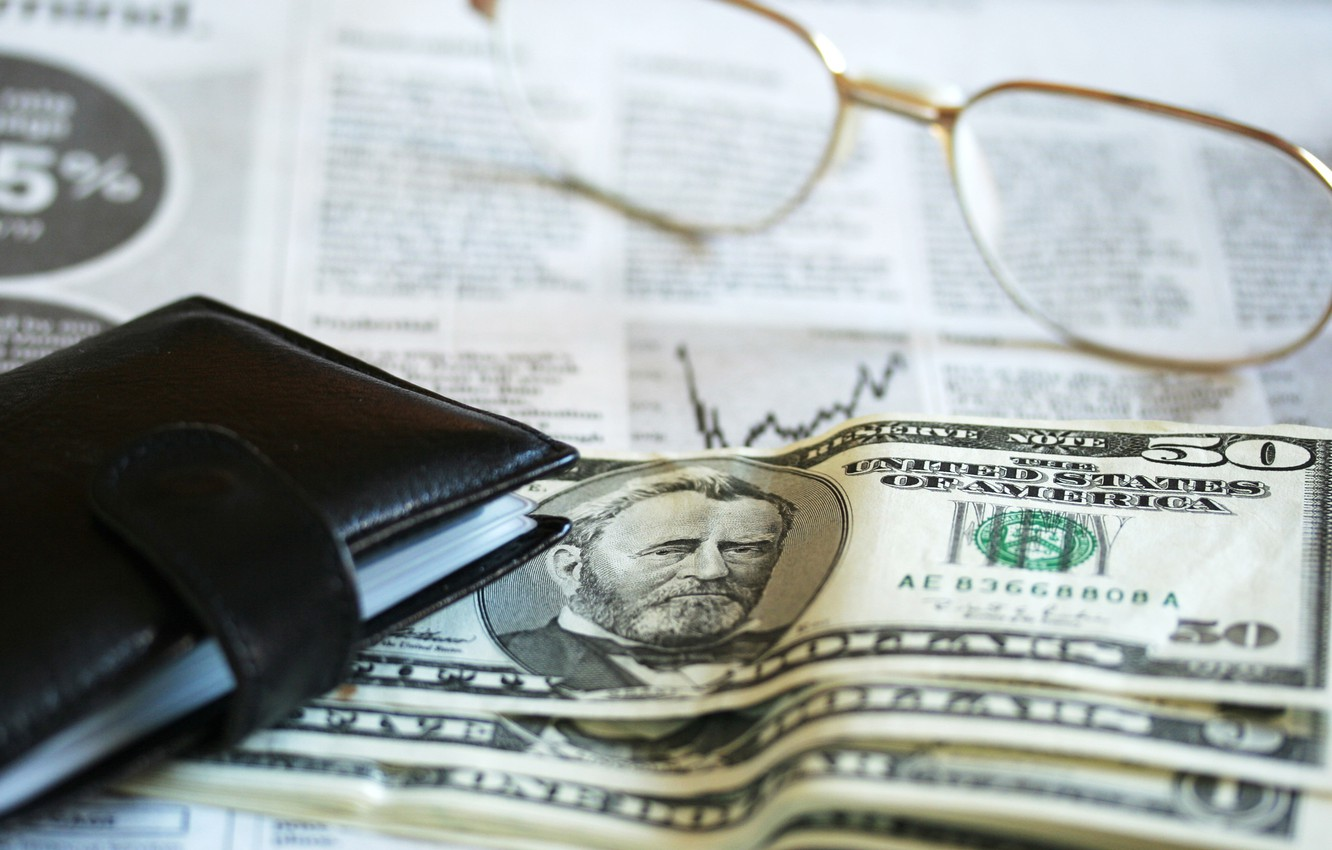 Wallpaper Dollar Glasses Financial Accounting Images For Desktop