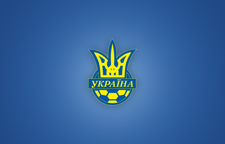 Photo wallpaper football, emblem, Ukraine