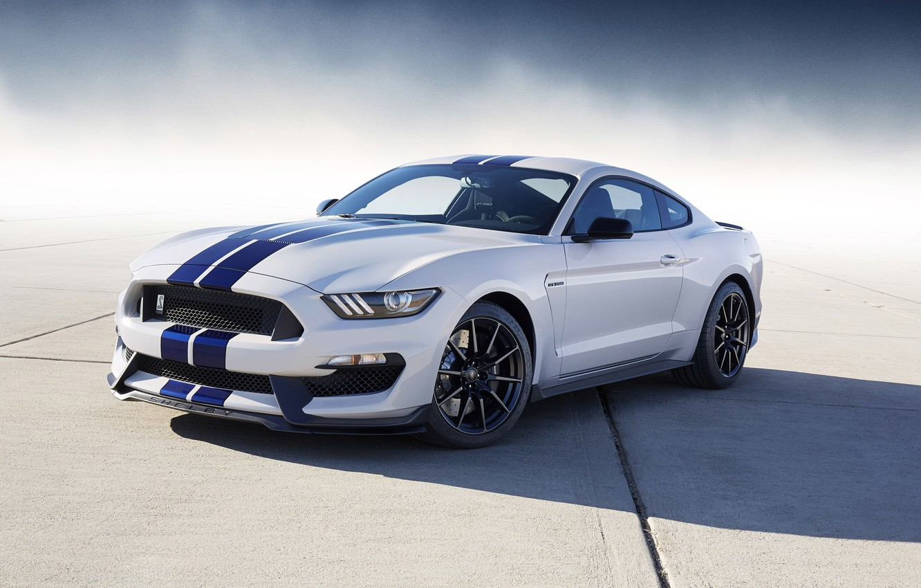 Photo wallpaper Mustang, Ford, Shelby, GT350, 2016