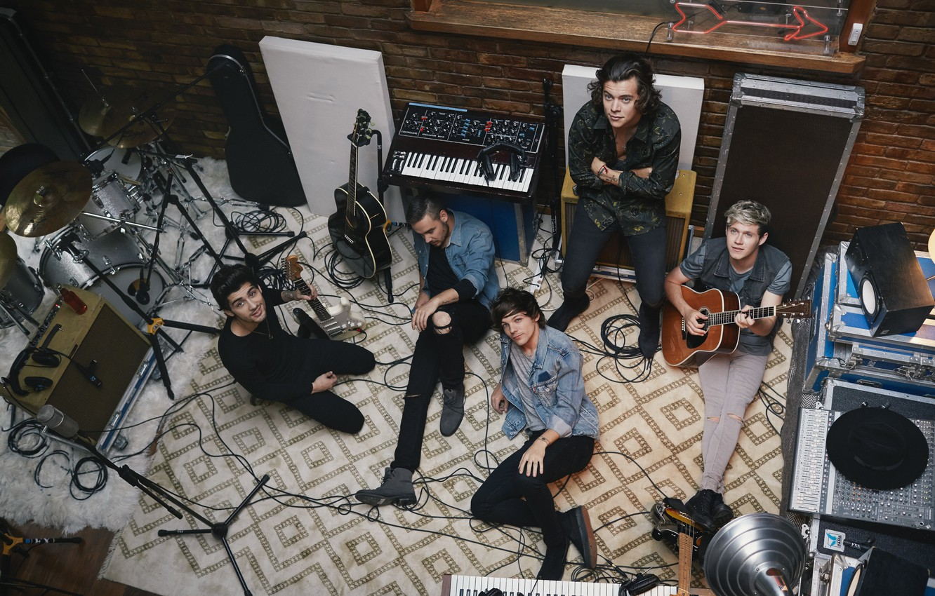 Wallpaper Music One Direction Louis Liam Harry Niall Four