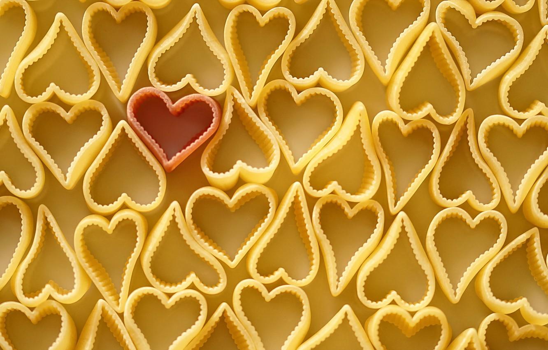 Photo wallpaper heart, color, form