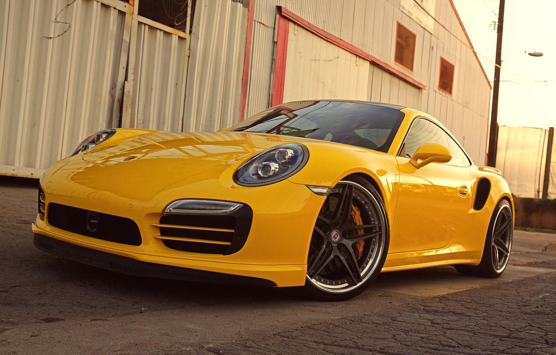 Photo wallpaper Porsche, Turbo, 991, HRE, S107