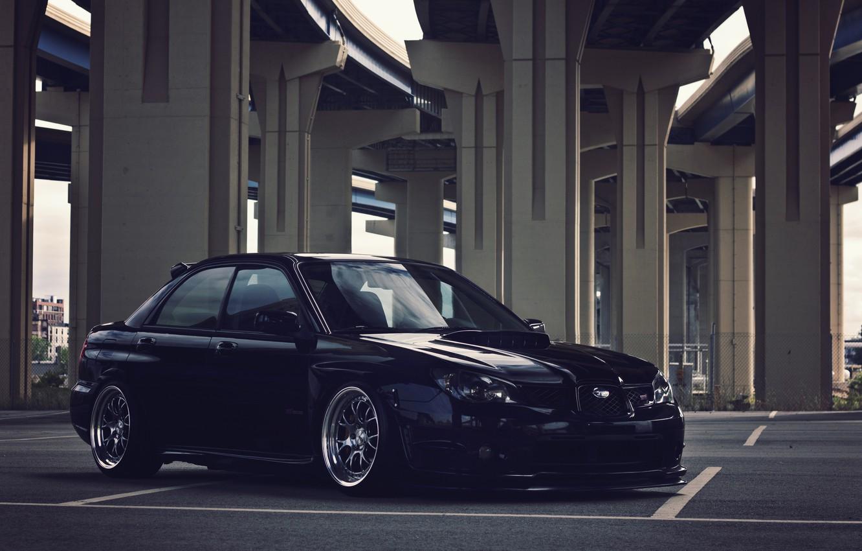 Photo wallpaper Subaru, wrx, impreza, Subaru, sti, Impreza, stance