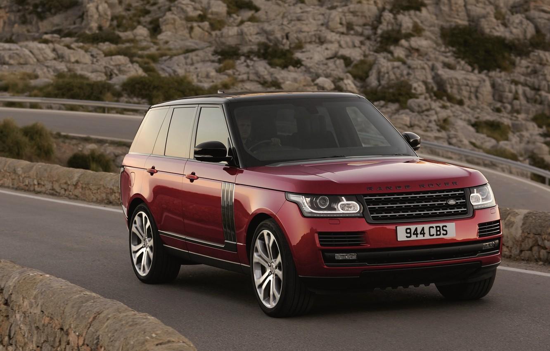 Photo wallpaper SUV, Land Rover, Range Rover, car, range Rover, SVAutobiography