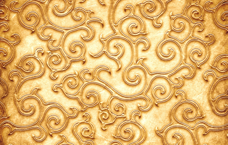 Wallpaper Pattern Texture Texture Pattern Golden Color