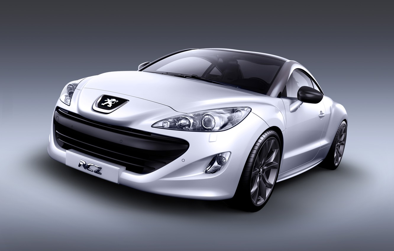 Photo wallpaper coupe, Peugeot, sport, RCZ, sports car, coupe