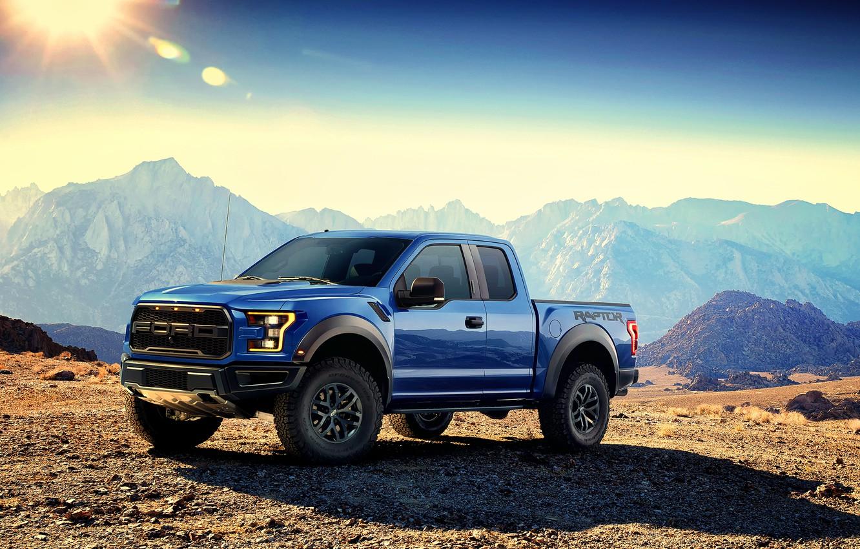 Photo wallpaper Ford, Ford, Raptor, Raptor, F-150, 2016