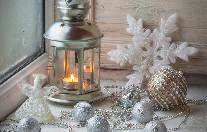 Photo wallpaper winter, snow, New Year, Christmas, light, Christmas, winter, snow, Xmas, decoration, candle, lantern, Merry