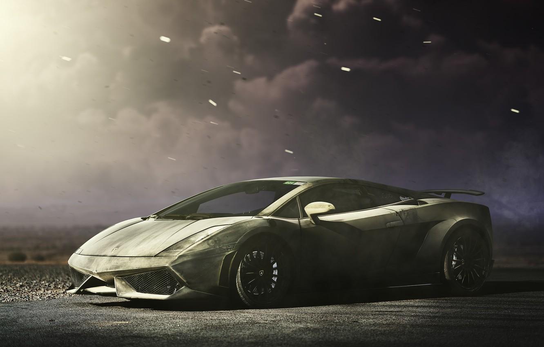 Photo wallpaper Lamborghini, Superleggera, Gallardo, Lamborghini, Gallardo, Superleggera
