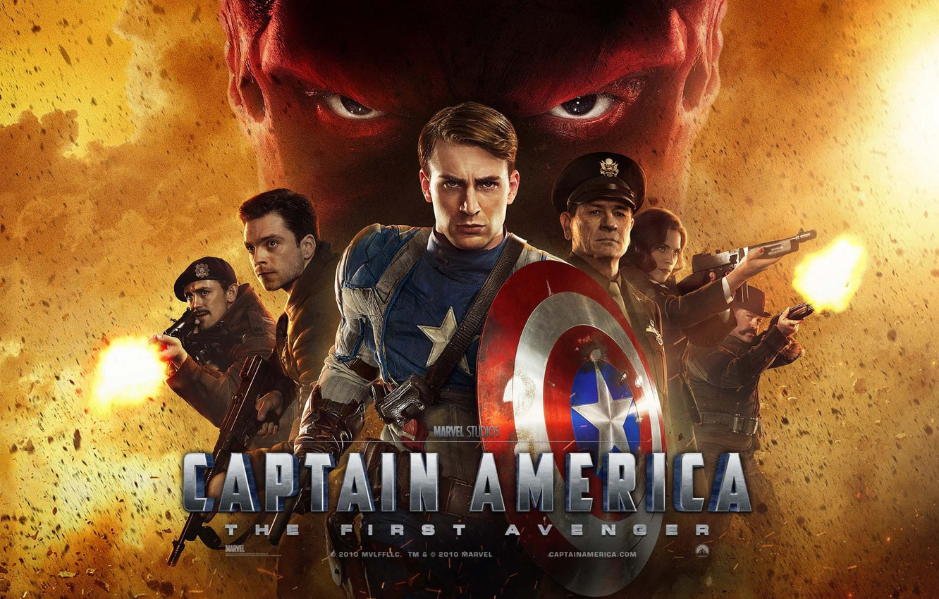 Wallpaper Film Chris Evans Captain America The First Avenger