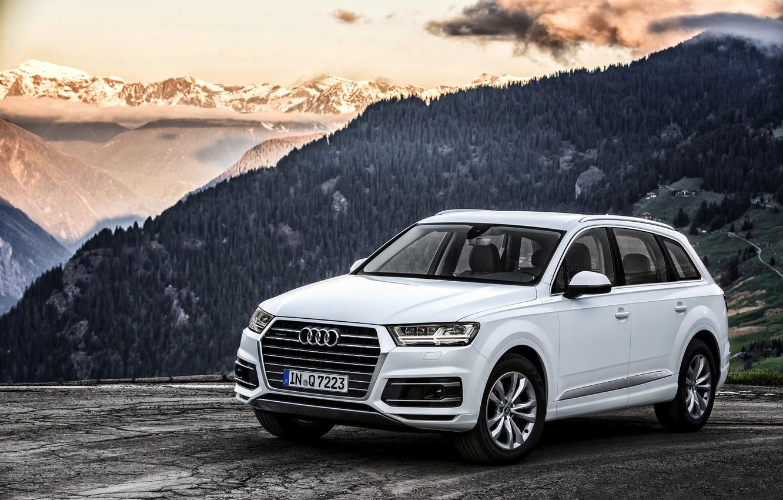Photo wallpaper Audi, Audi, TDI, quattro, 2015