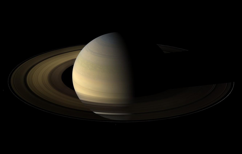 Photo wallpaper Saturn, Planet, Ring