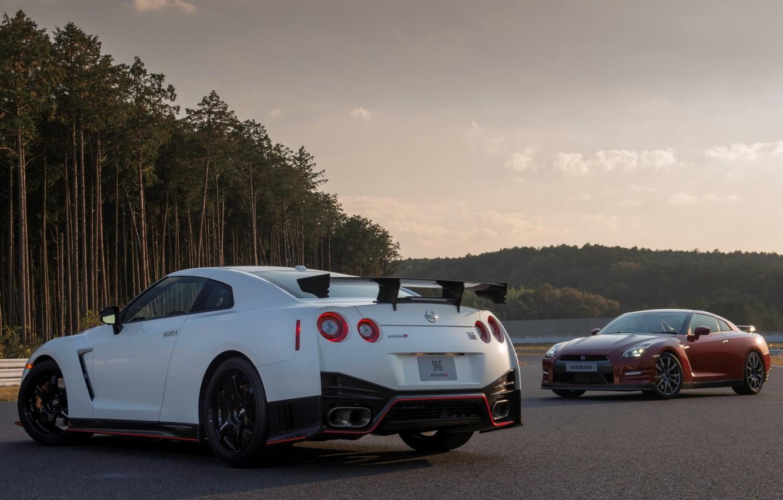 Photo wallpaper Nissan