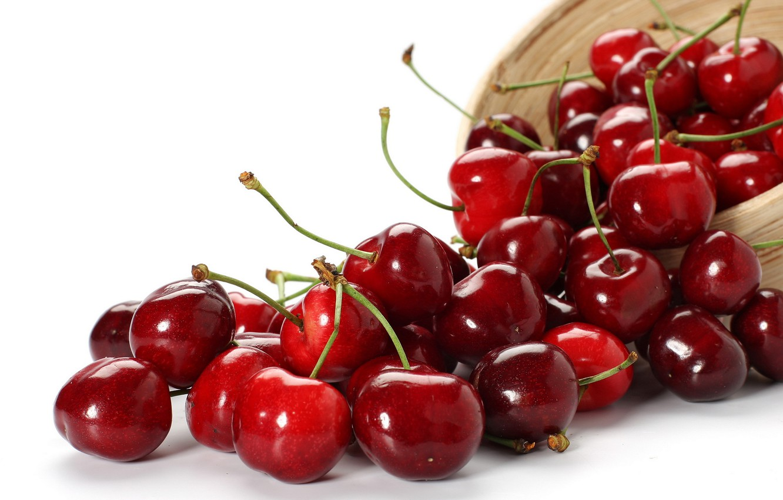 Photo wallpaper Berries, cherry, vitamins