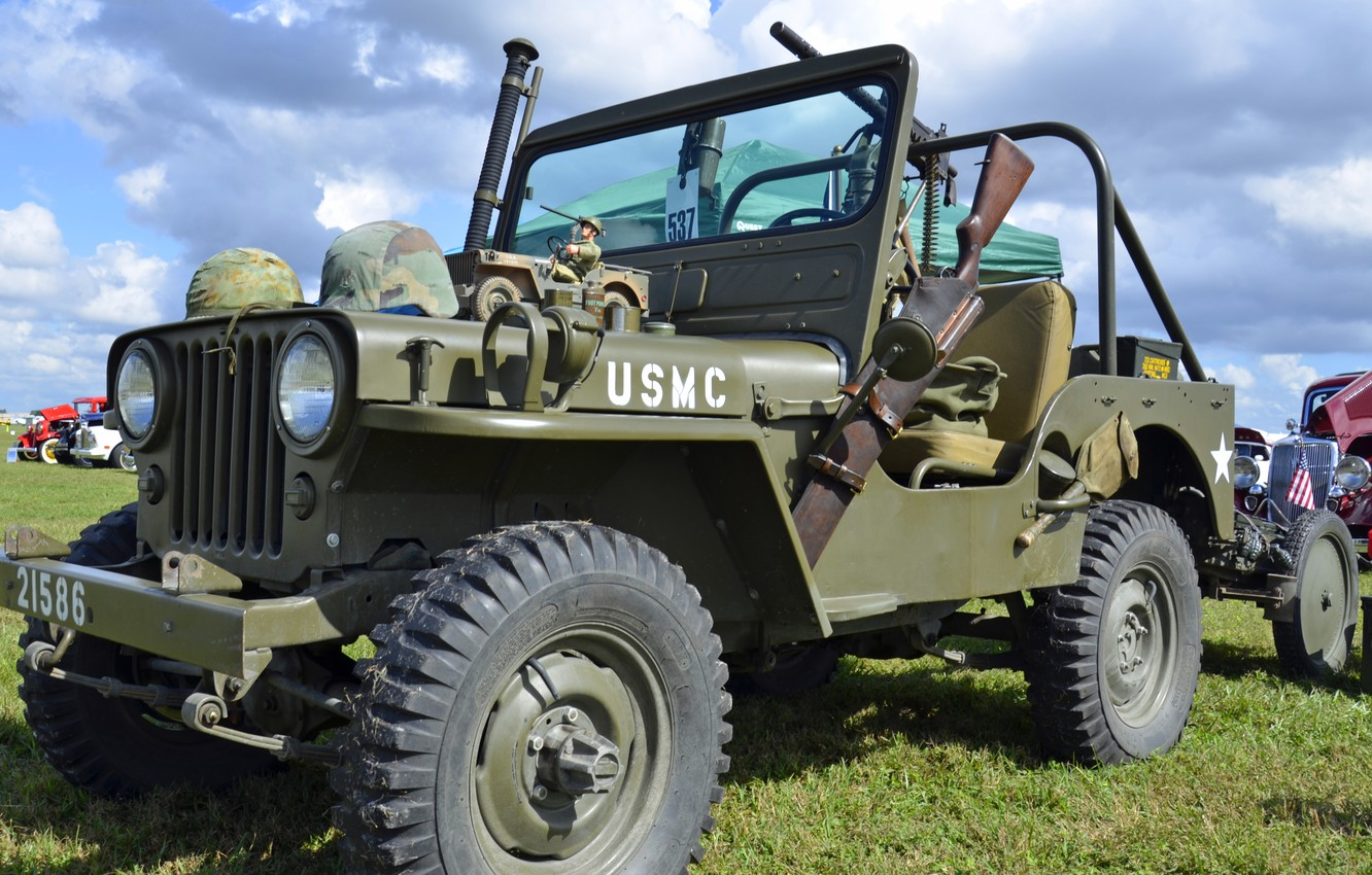 """Photo wallpaper war, car, army, Jeep, high, patency, world, Second, times, """"Willis-MV"""", Willys MB"""