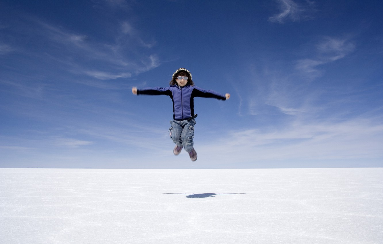 Photo wallpaper nature, flight, Bolivia, salt marsh, utuni, Uyuni