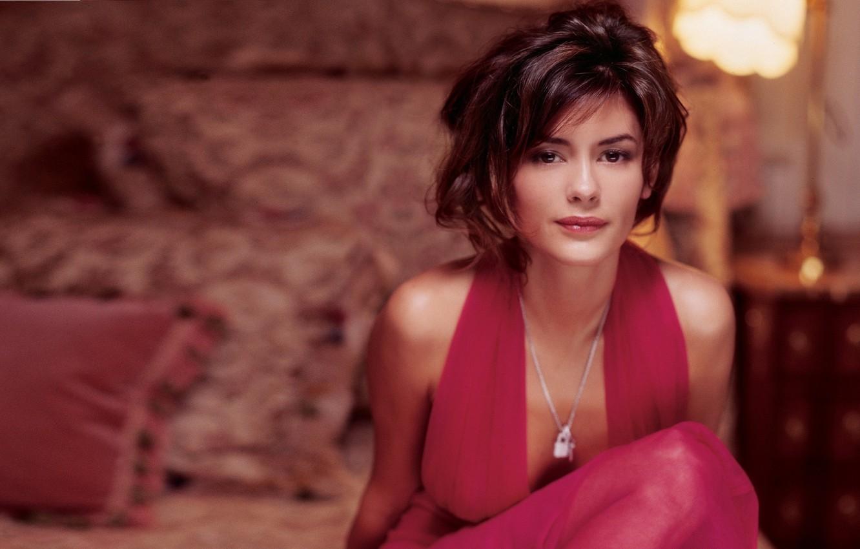 Photo wallpaper actress, french, woman., audrey tautou