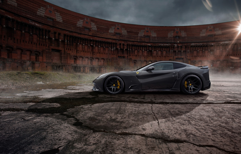 Photo wallpaper Ferrari, supercar, Ferrari, Novitec Rosso, F12berlinetta