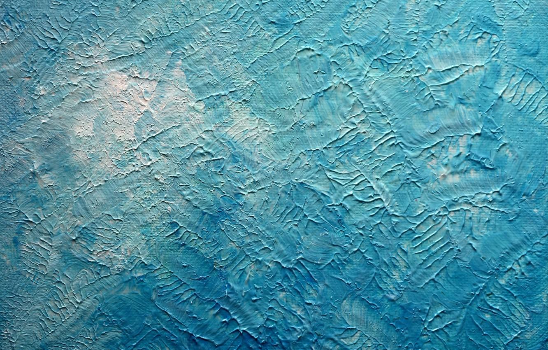 Photo wallpaper background, blue, color, texture, plaster