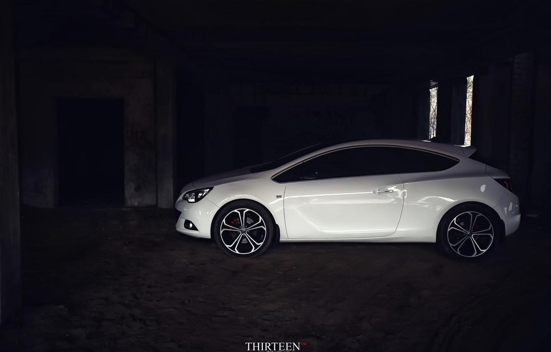 Photo wallpaper machine, auto, photographer, drives, auto, photography, photographer, Thirteen, Opel Astra J GTC