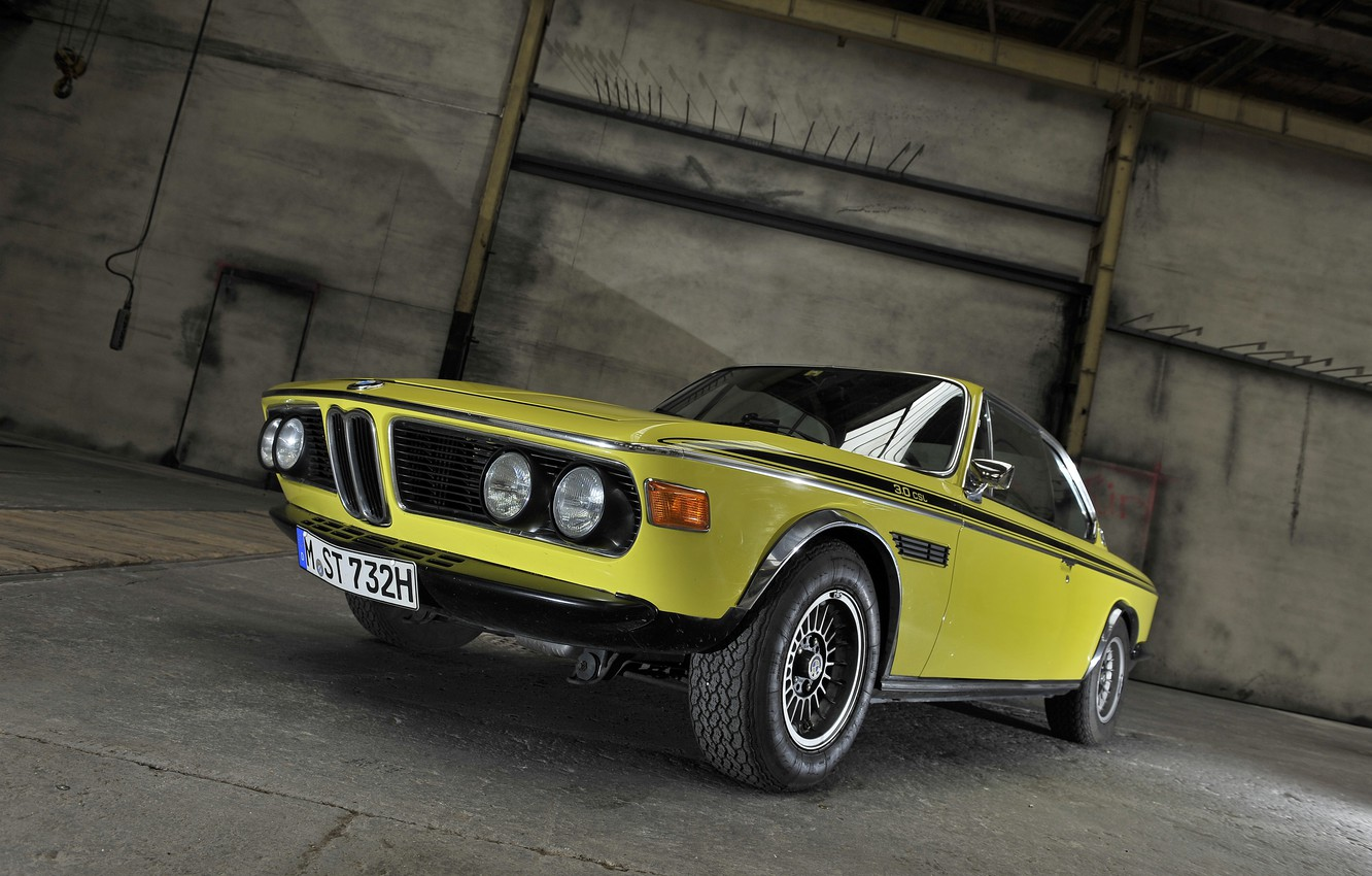 Photo wallpaper BMW, coupe, BMW, 1971, Coupe