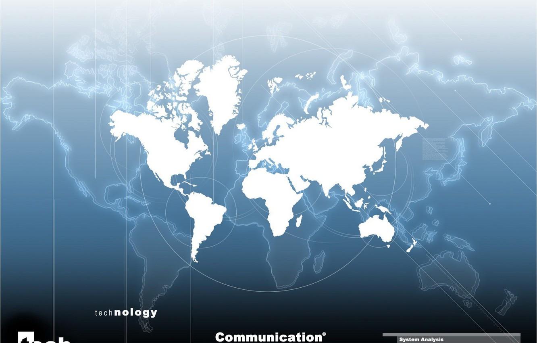 Photo wallpaper earth, analysis, Map