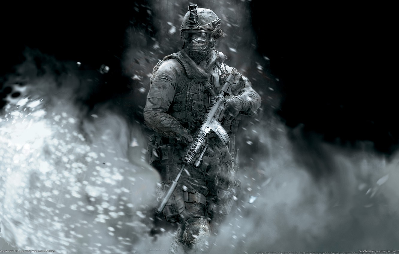 Wallpaper Soldiers Modern Warfare 2 Call Of Duty Images