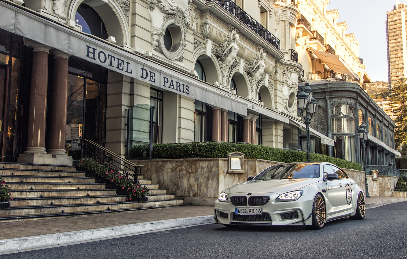 Photo wallpaper paris, hotel, BMW M6, Prior Design