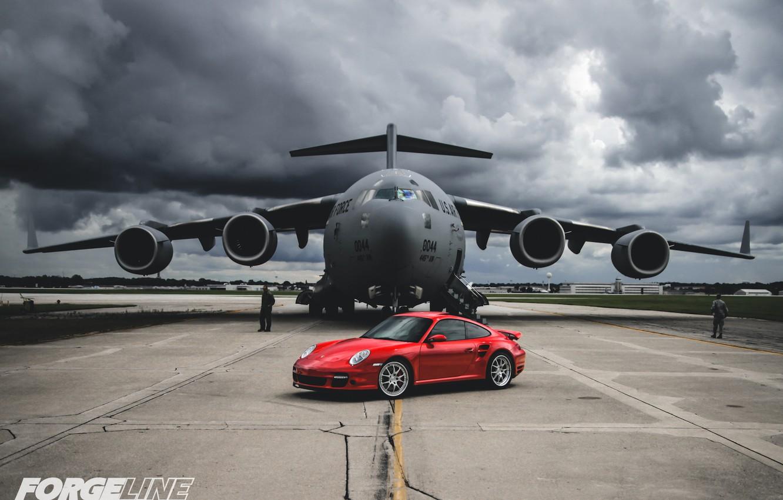 Photo wallpaper 997, Porsche, Turbo, Forgeline, GA3. Wheels