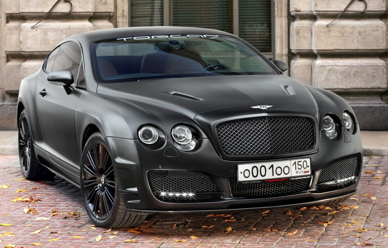 Photo wallpaper Bentley, Continental, cars