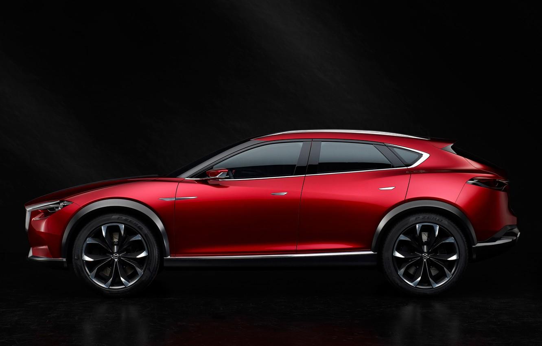 Photo wallpaper Concept, the concept, Mazda, side, Mazda, crossover, 2015, Koeru, Koeru