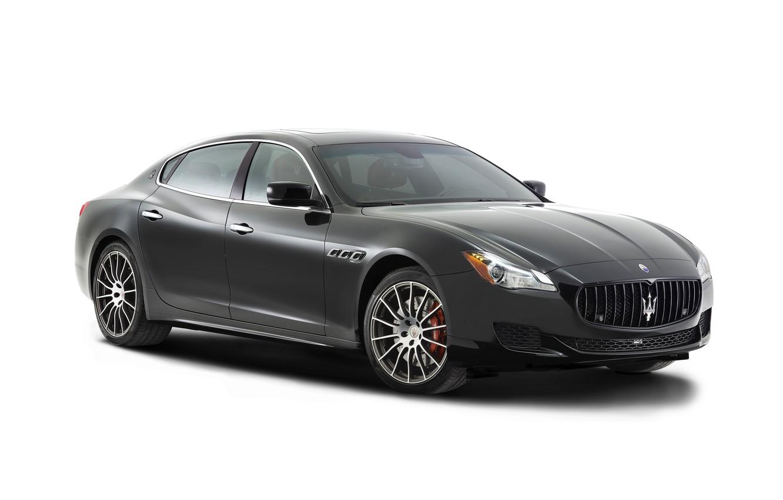 Photo wallpaper Maserati, Quattroporte, white background, Maserati, GTS, 2014, quatroporte