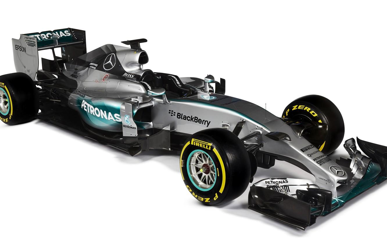Photo wallpaper formula 1, Mercedes, AMG, Hybrid, 2015, W06