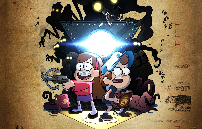 Wallpaper Gravity Falls Gravity Falls Disney Television
