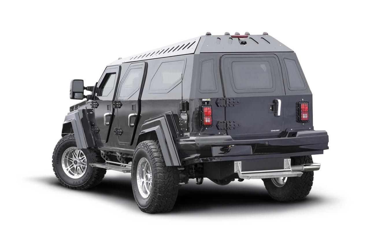 Photo wallpaper SUV, armored, Knight XV, Conquest Vehicles