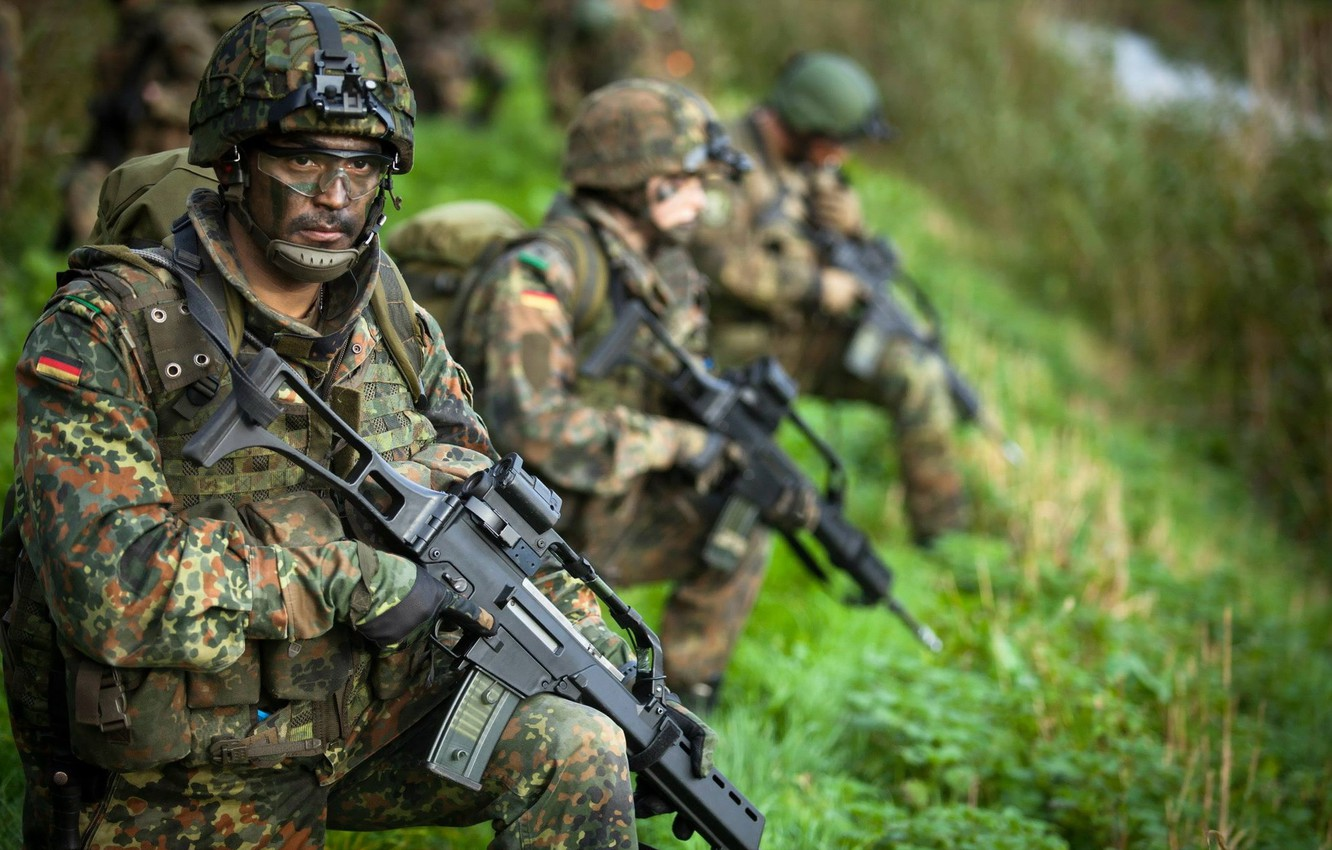 Wallpaper weapons, soldiers, German Army Paratrooper images