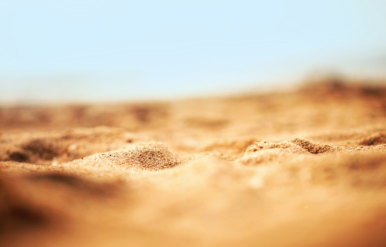 Photo wallpaper sand, beach, macro, nature, sand