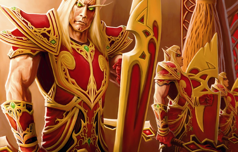 Wallpaper wow, Horde, blood elf, world of wacraft, the blood